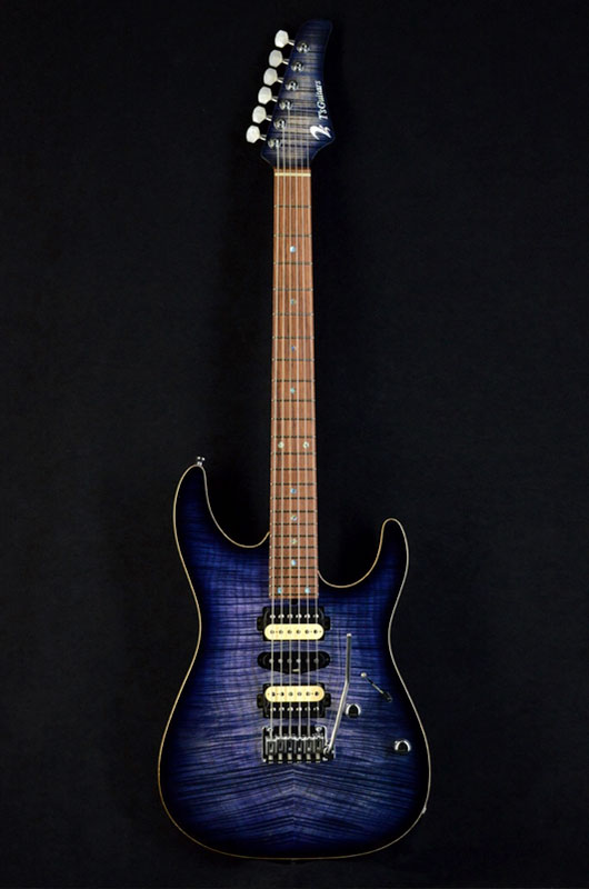 DST-Pro24-Mahogany-Limited(Whale-Blue-Burst)