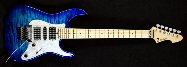 DST-Classic24 Droptop Exotic Flame(Blue Burst)