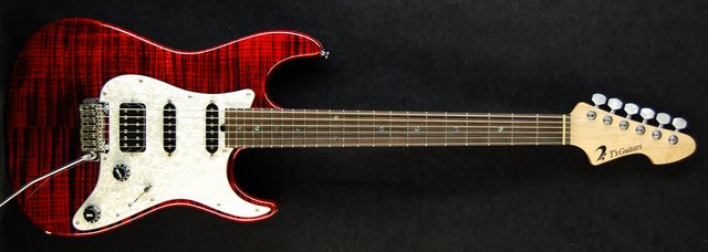DST-Classic Droptop  Special Wide Flame(Trans-Red)