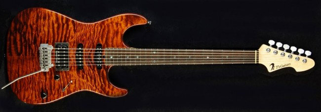 DST Droptop Quilted Maple (Trans-Brown) Wilkinson VS100N