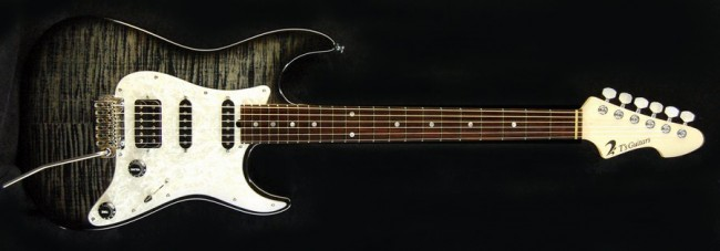 DST-Classic Droptop Flame Maple(Trans-Black)