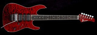 DST Droptop 24 Quilted (Black Cherry) Gotoh GE1996T