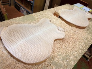 Archtop carving