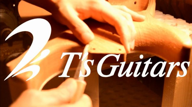 ギター製作動画更新しました!