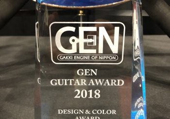 GEN Guitar Award「Design & Color 」賞受賞いたしました!