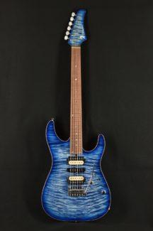 DST-Pro24,5A-Exotic,Mahogany Limited(Trans Blue Denim Burst)
